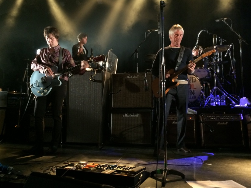 So what have the Paul Weller band been up torecently?