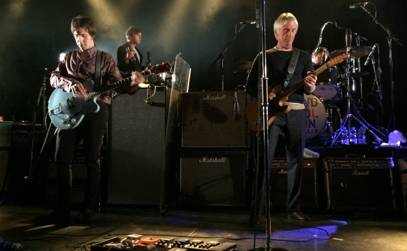So what have the Paul Weller band been up to recently?