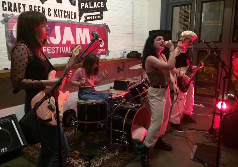 Peach Club live at the Mash Tun,Norwich